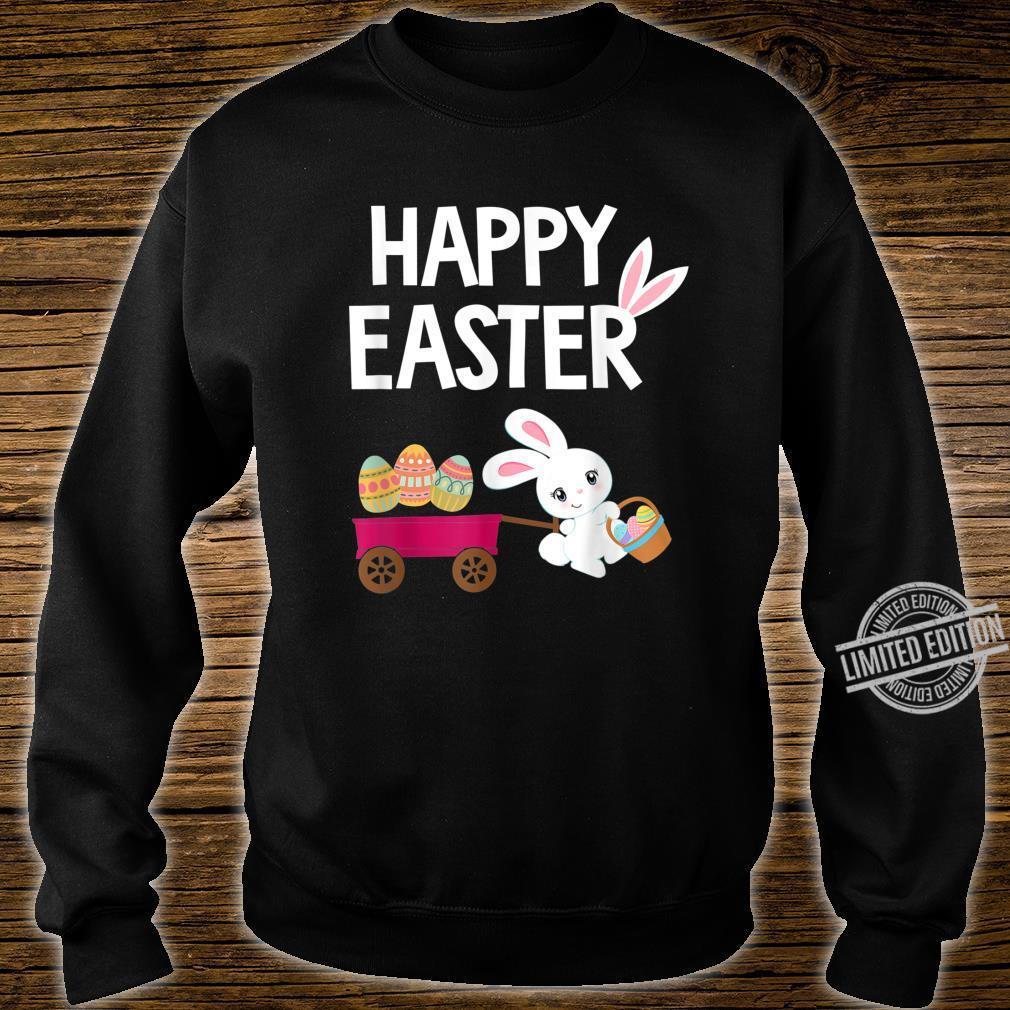 Happy Easter Bunny with Easter Eggs Shirt sweater