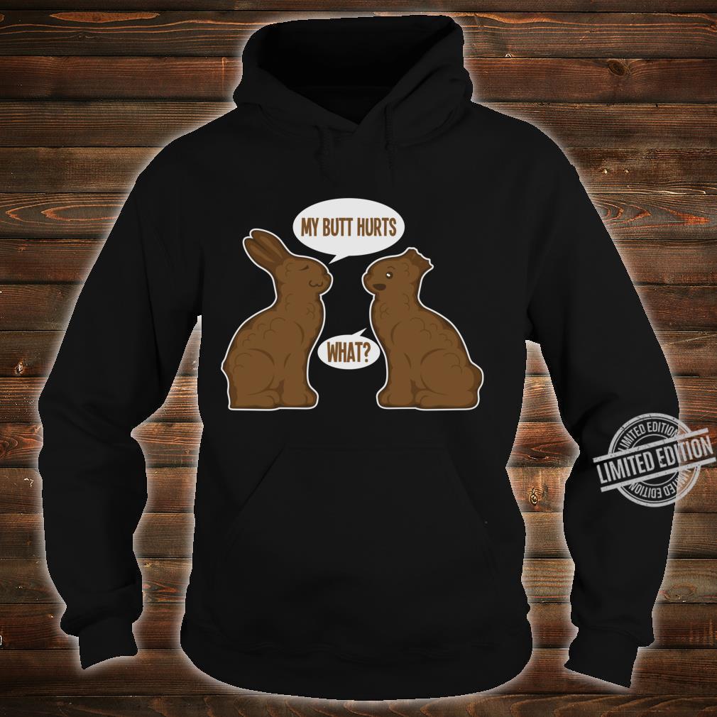 Happy Eastern Two Cute Easter Bunnies Shirt hoodie