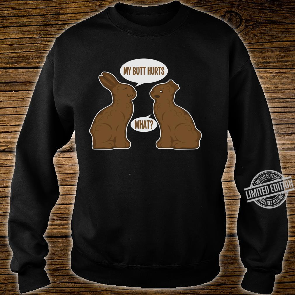 Happy Eastern Two Cute Easter Bunnies Shirt sweater