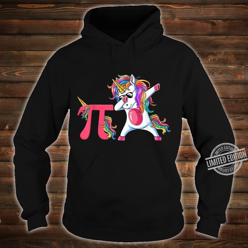 Happy Pi Day Unicorn Dabbing Math Teacher Student Shirt hoodie