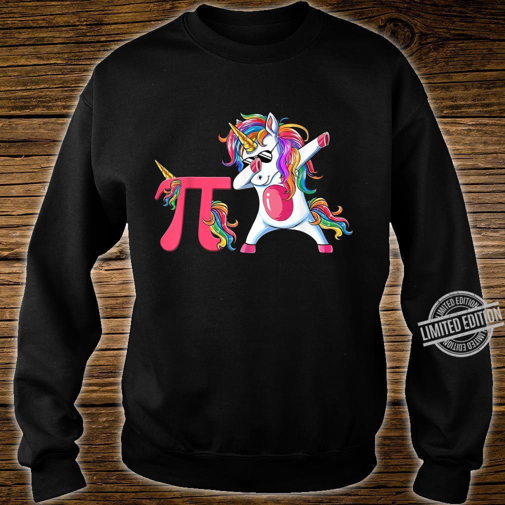 Happy Pi Day Unicorn Dabbing Math Teacher Student Shirt sweater