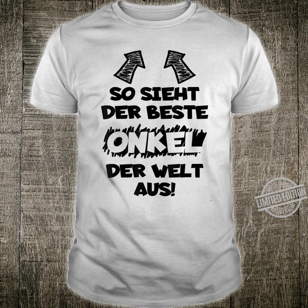 Herren BESTER ONKEL DER WELT 2020 Lustiger Spruch Männer Geschenk Shirt