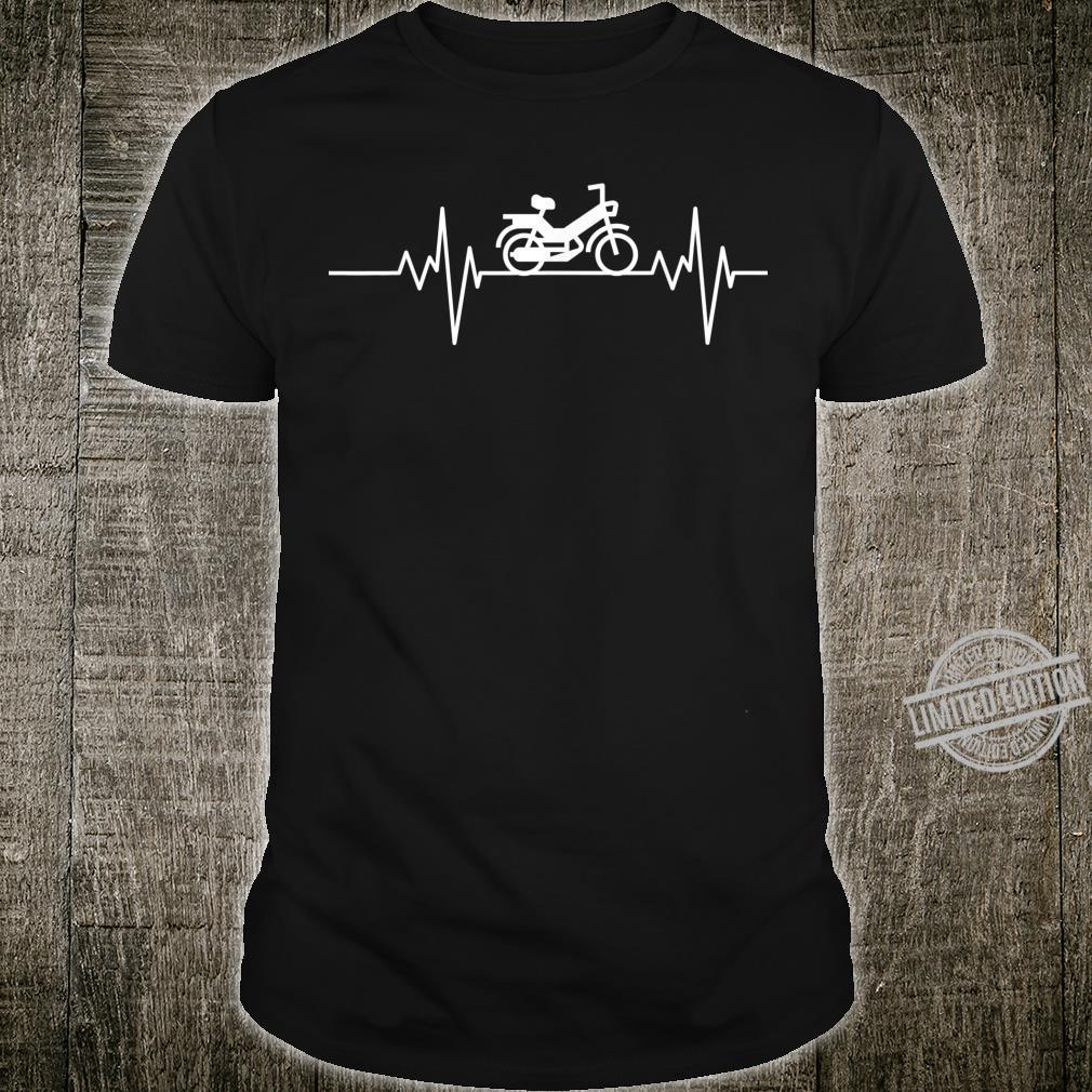 Herzschlag Mofa Mofafahrer Moped Mokick MofaTuning Geschenk Shirt