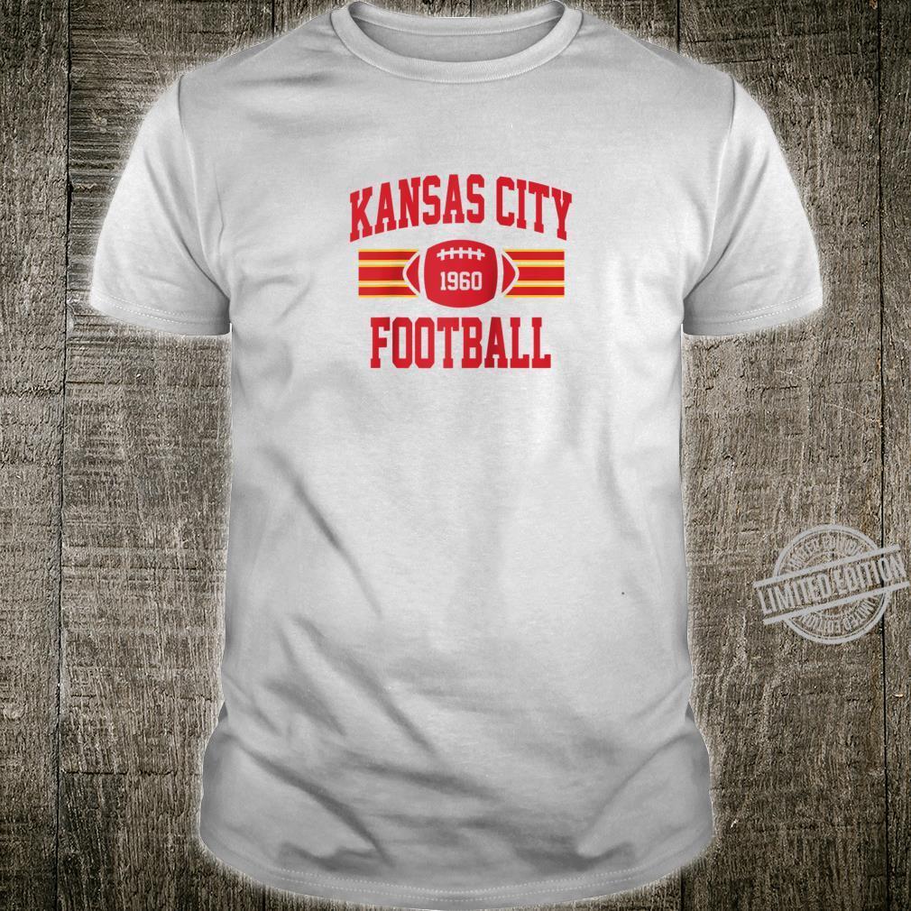Kansas City Football Athletic Vintage Sports Team Fan Shirt