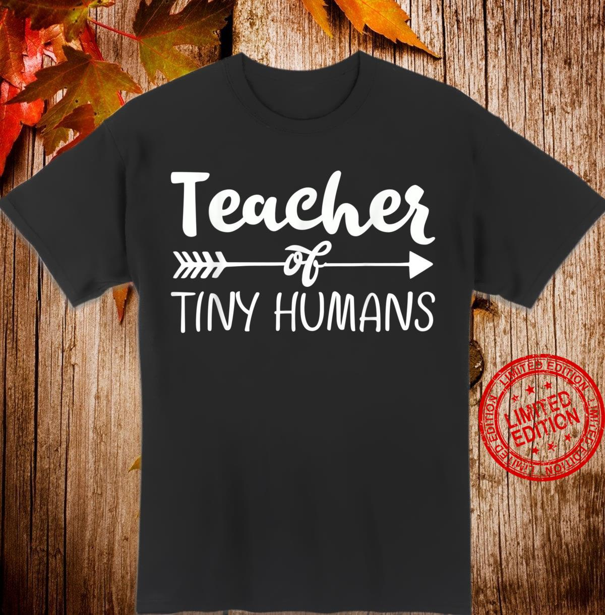 Kindergarten Preschool Teacher for 1st Day Shirt
