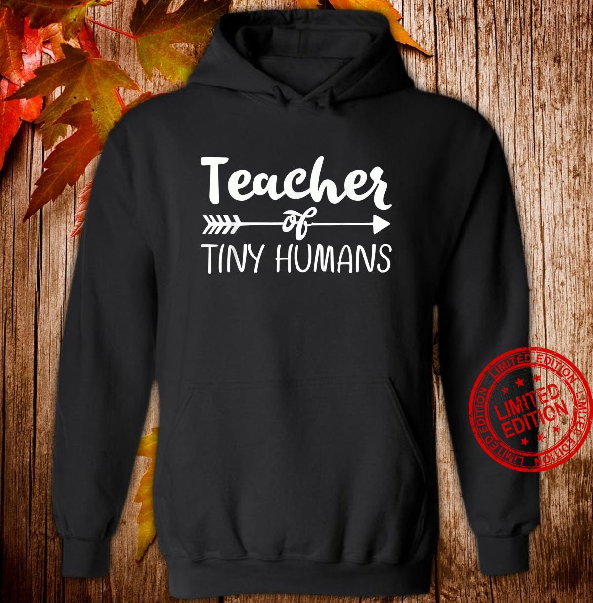 Kindergarten Preschool Teacher for 1st Day Shirt hoodie