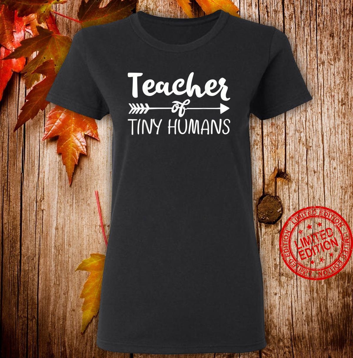 Kindergarten Preschool Teacher for 1st Day Shirt ladies tee