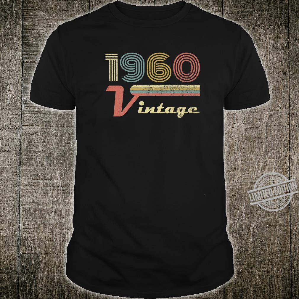 Made in 1960, Vintage 60 Years Old, 60th Milestone Birthday Shirt