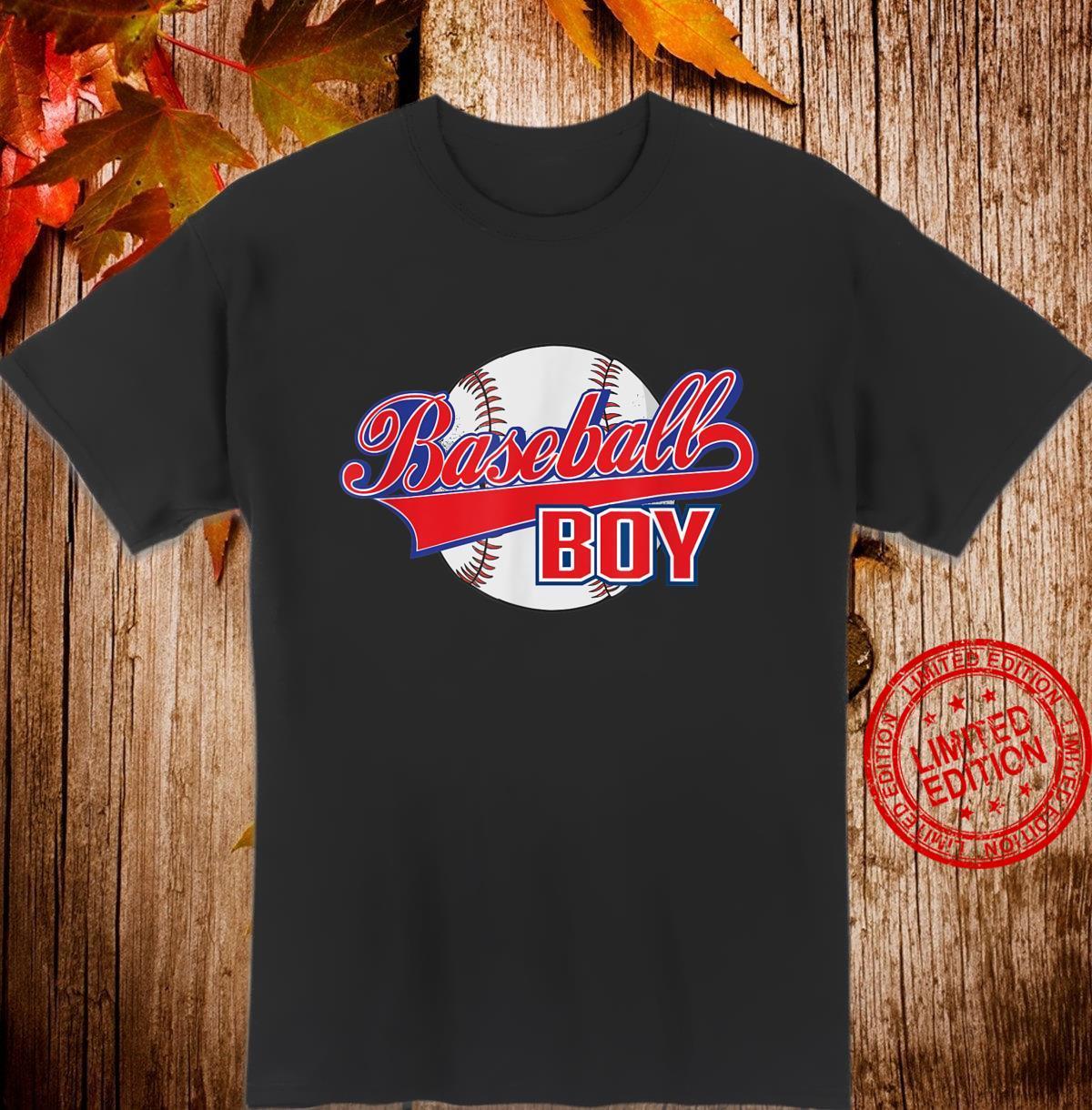 Men Baseball Boy Coach Father's Day Baseball Shirt