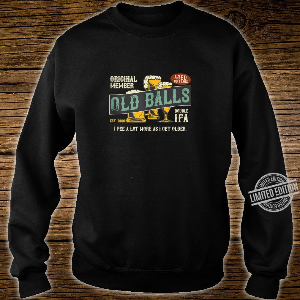 Mens IPA Beer 60th Birthday I Pee A Lot More As I Get Older Shirt sweater