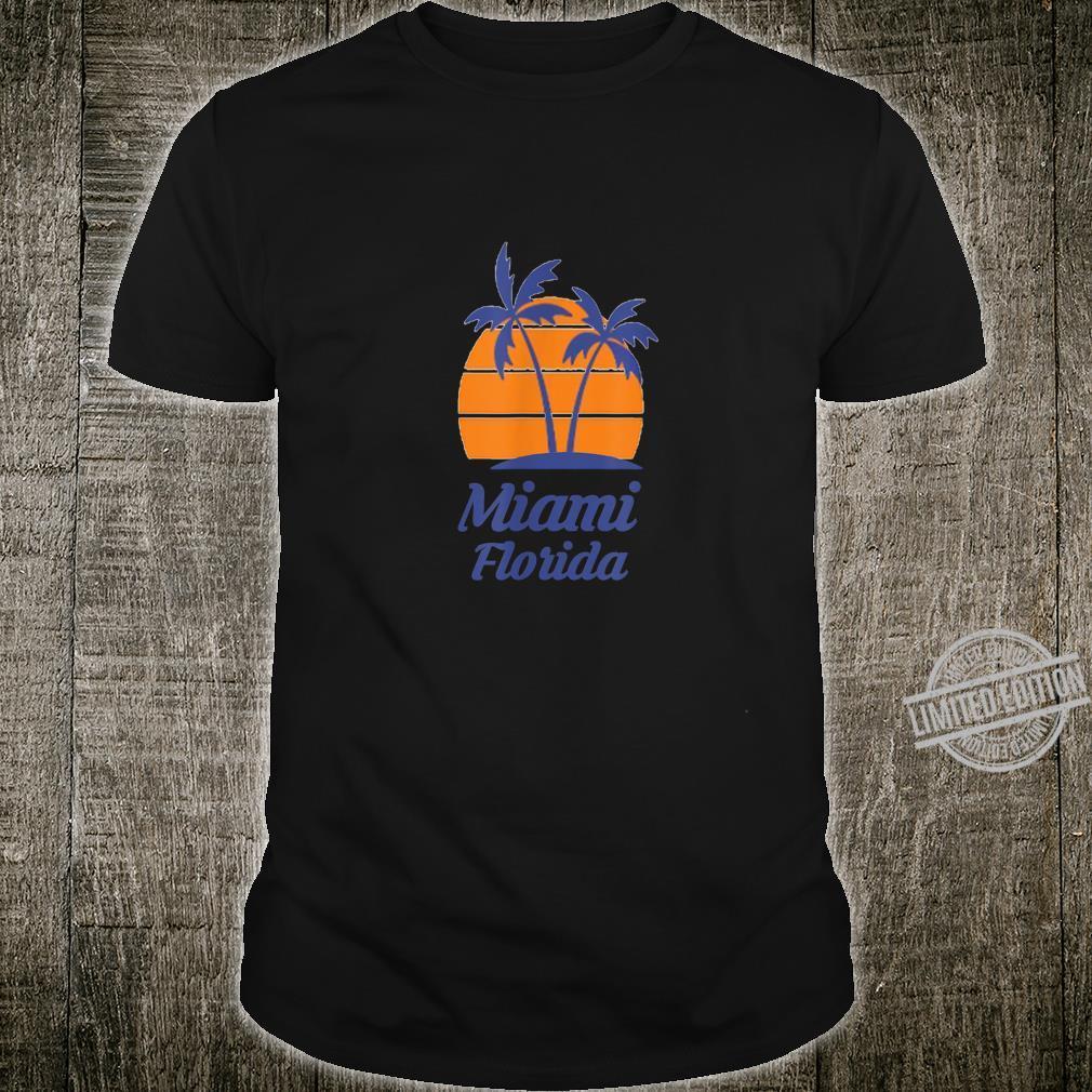 Miami Florida FL City State Beach Tourist Souvenir Shirt