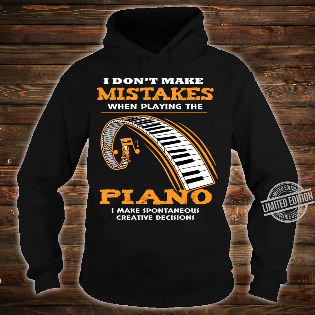 Piano Shirt hoodie