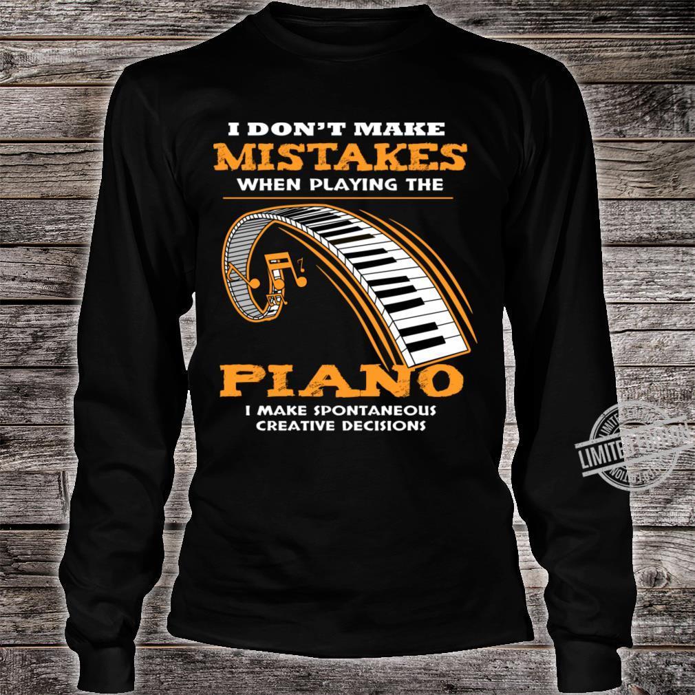 Piano Shirt long sleeved