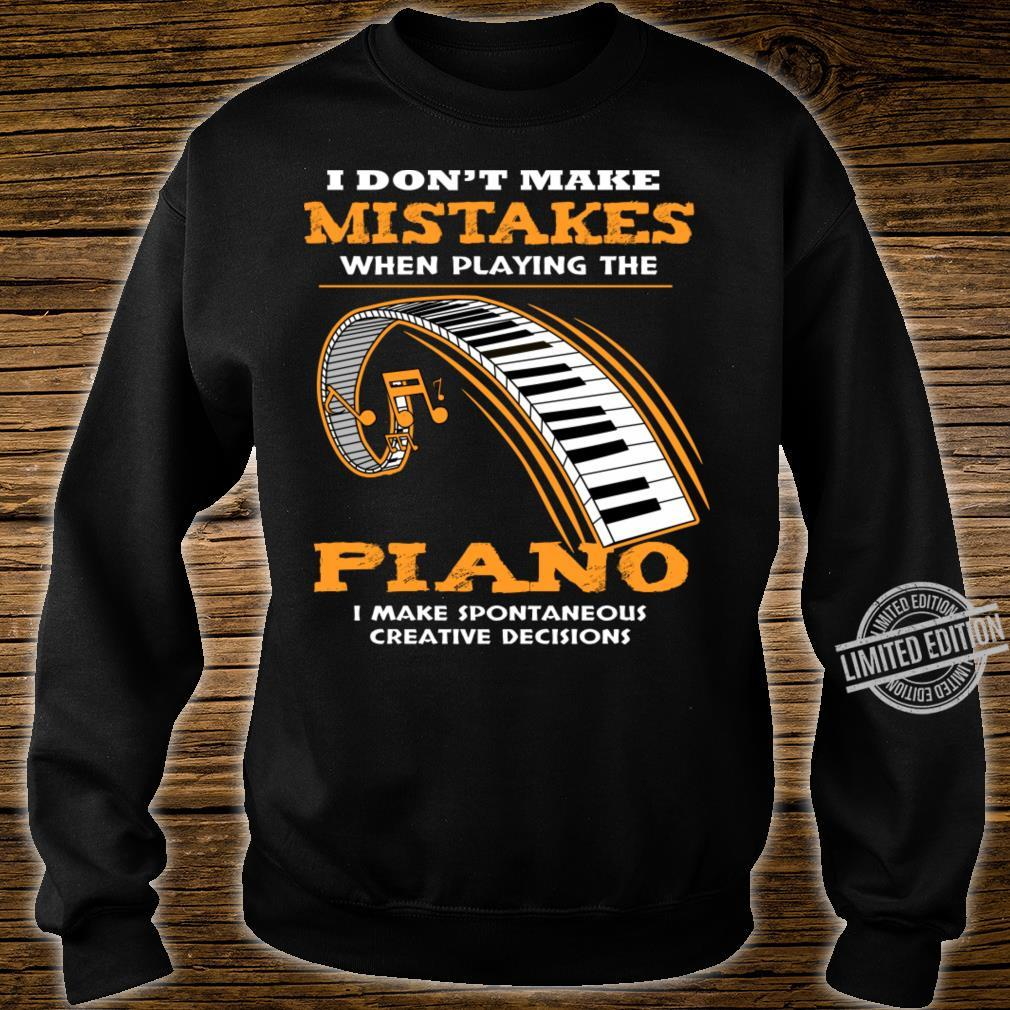 Piano Shirt sweater