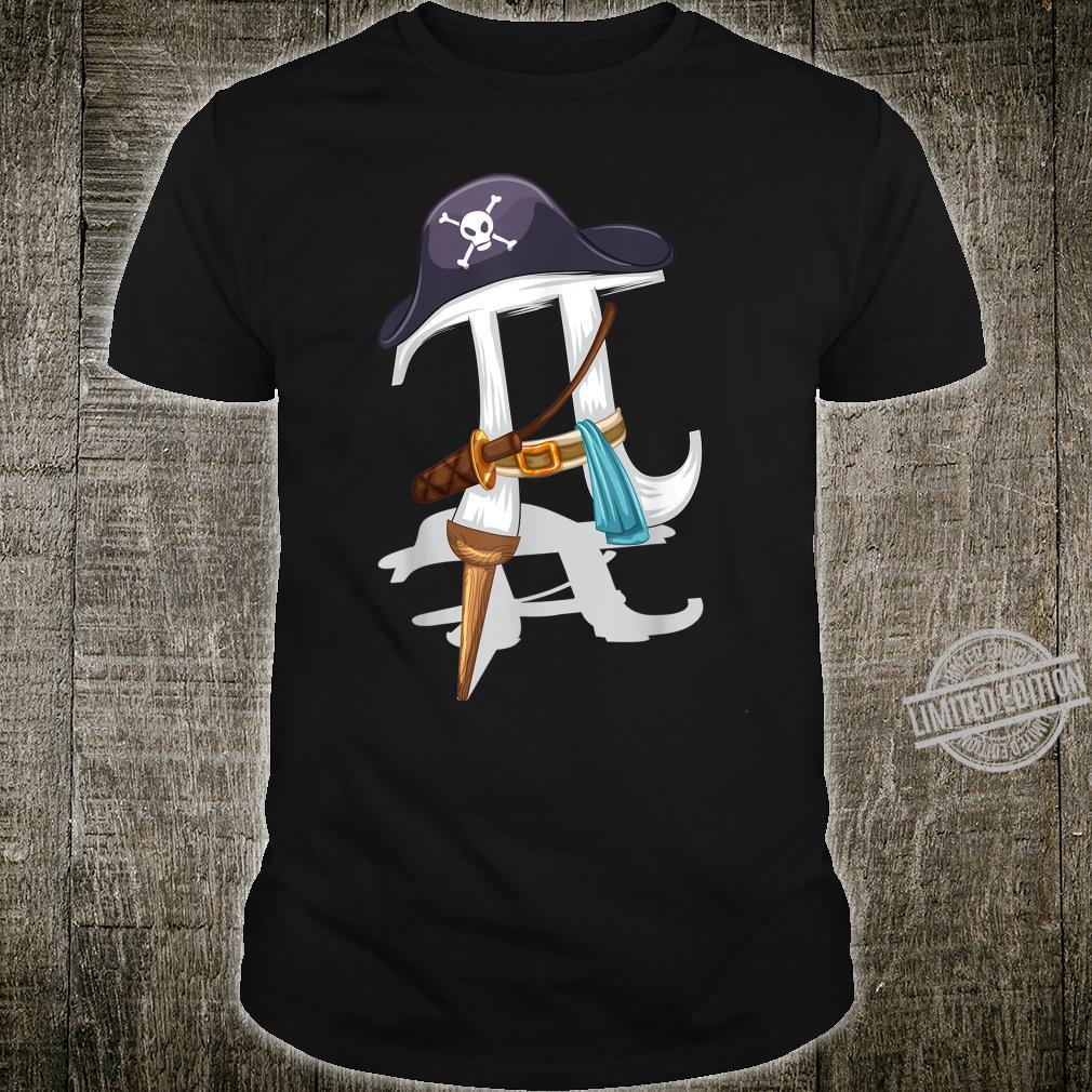Pirate Pi Cute Pie Math Wizards Shirt