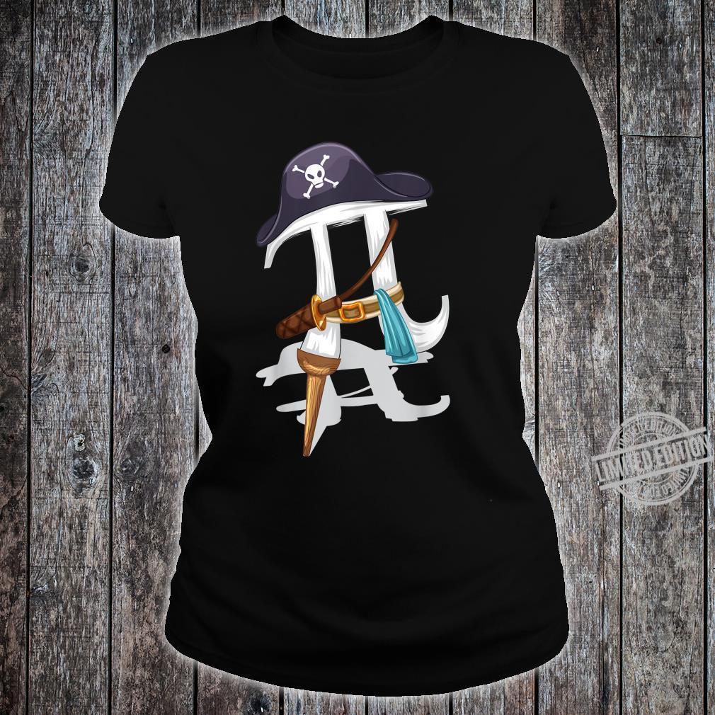 Pirate Pi Cute Pie Math Wizards Shirt ladies tee