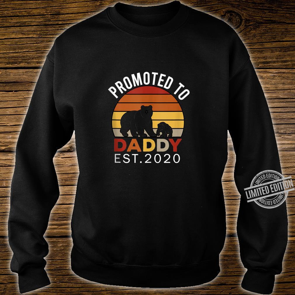 Promoted to Daddy est 2020 Bear Vintage Shirt sweater