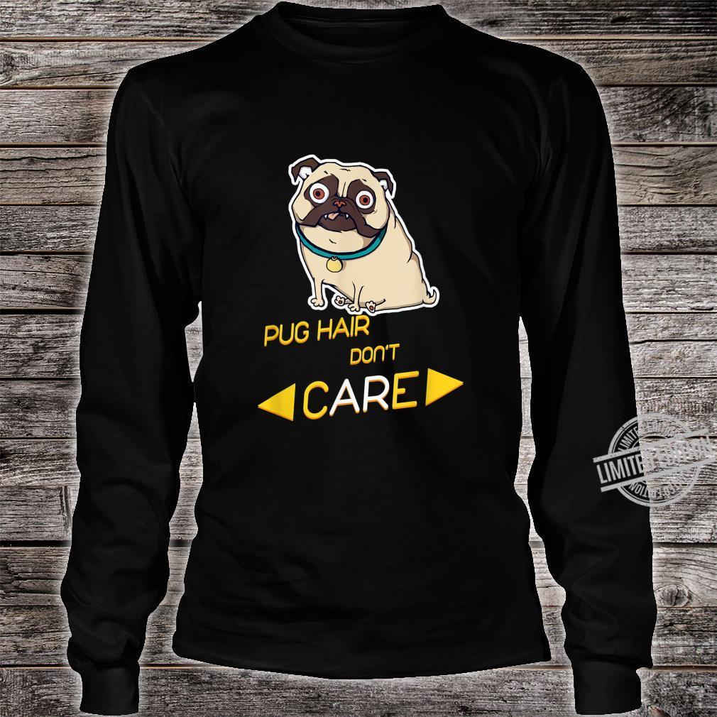 Pug Shirt Best Pug Dad Ever Shirt long sleeved