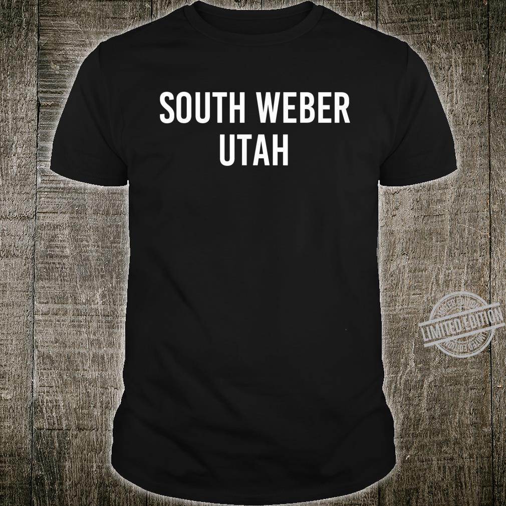 SOUTH WEBER UTAH UT USA Patriotic Vintage Sports Shirt