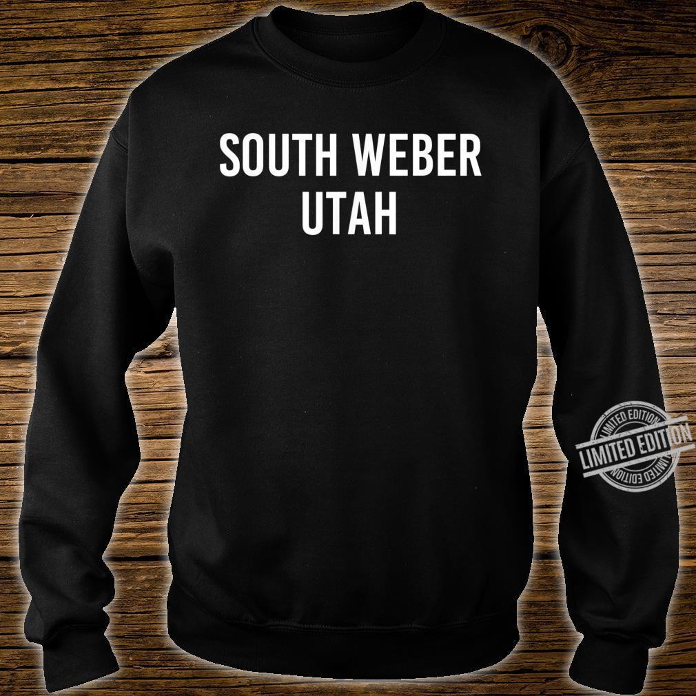 SOUTH WEBER UTAH UT USA Patriotic Vintage Sports Shirt sweater