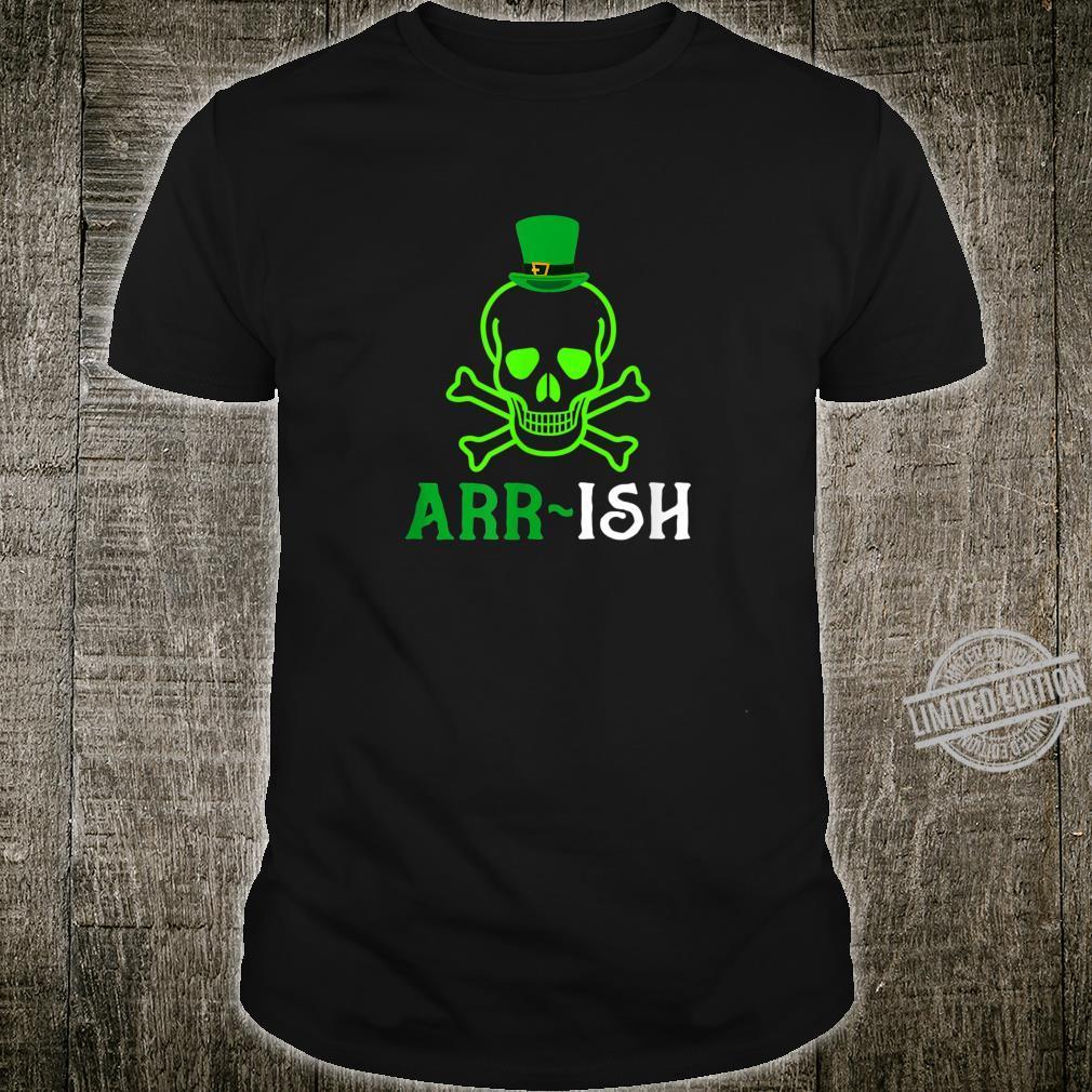 Skull Irish Pirate Saint Patrick Day Shirt