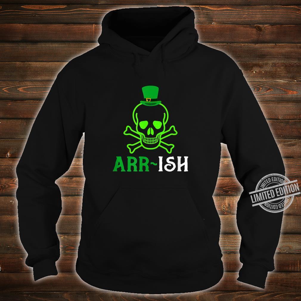 Skull Irish Pirate Saint Patrick Day Shirt hoodie