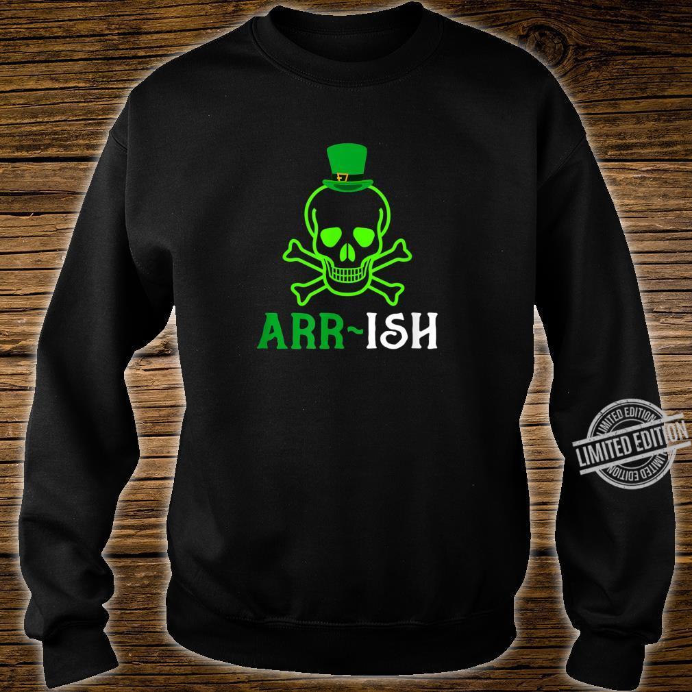 Skull Irish Pirate Saint Patrick Day Shirt sweater