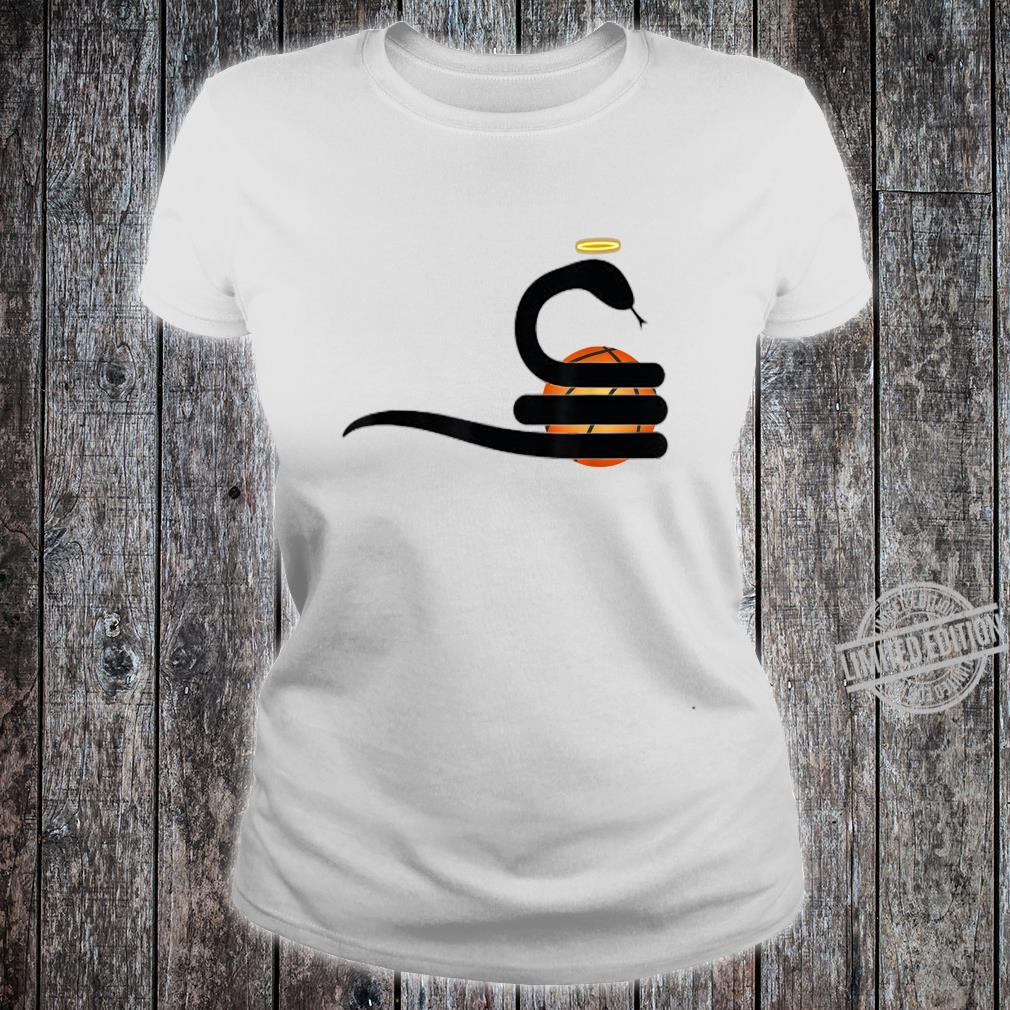 SnakeMamba Basketball Design Shirt ladies tee