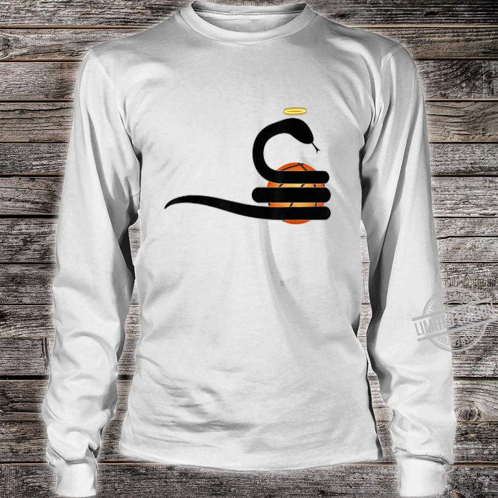 SnakeMamba Basketball Design Shirt long sleeved