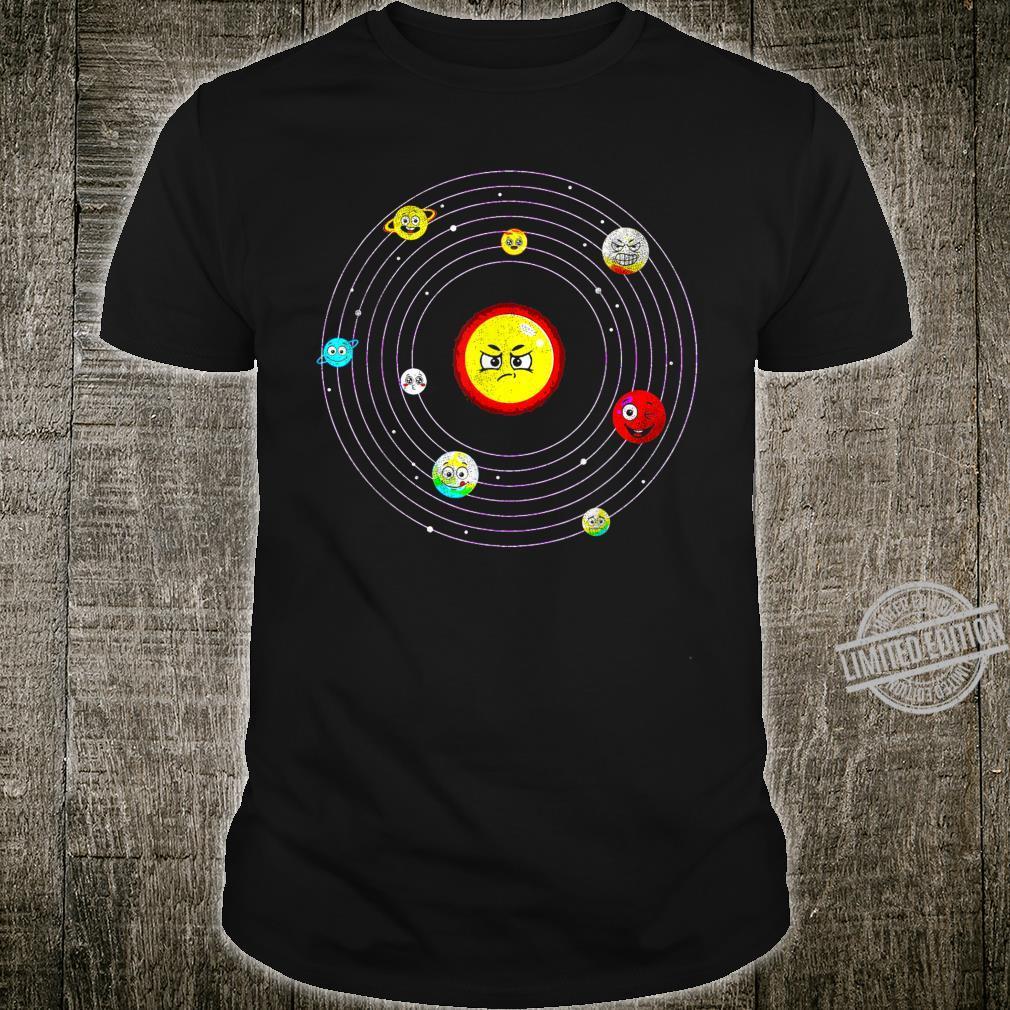 Solar System Planeten Universum Astronaut Geschenk Shirt