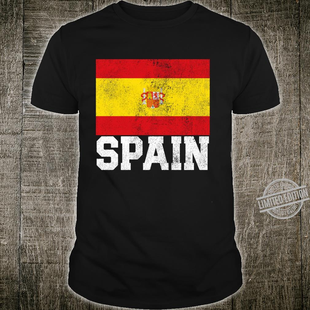 Spanish Spain Flag National Pride Family Roots Country Shirt