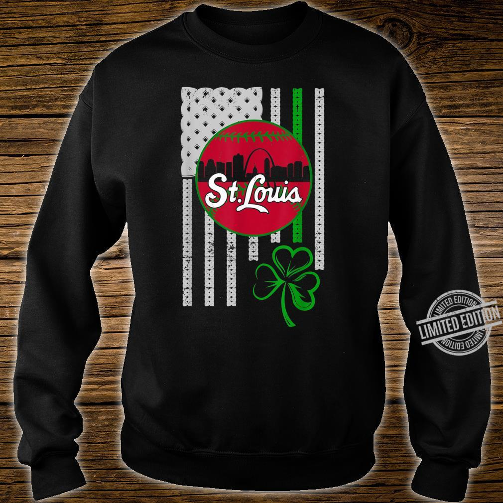 St.Louis Baseball St Patricks Day Downtown Skyline Shamrock Shirt sweater
