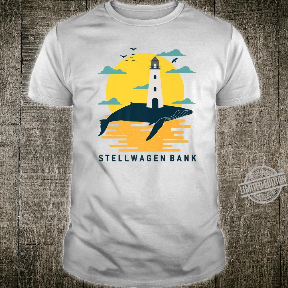 Stellwagen Bank Massachusetts Whale Watch Cape Cod Souvenir Shirt