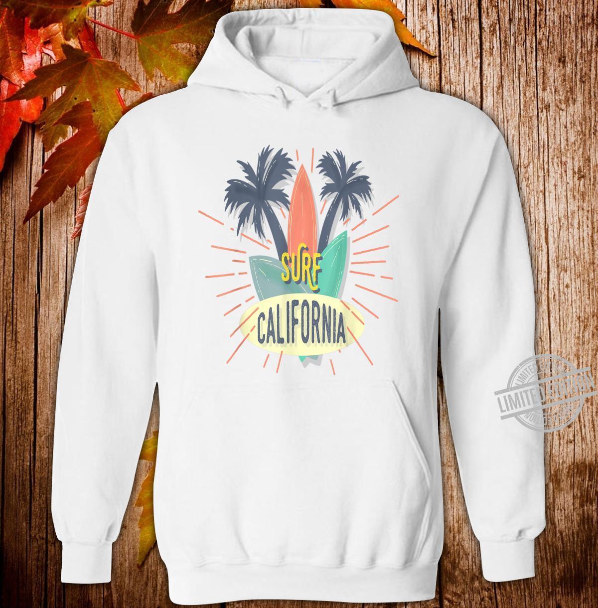 Surf California Shirt hoodie