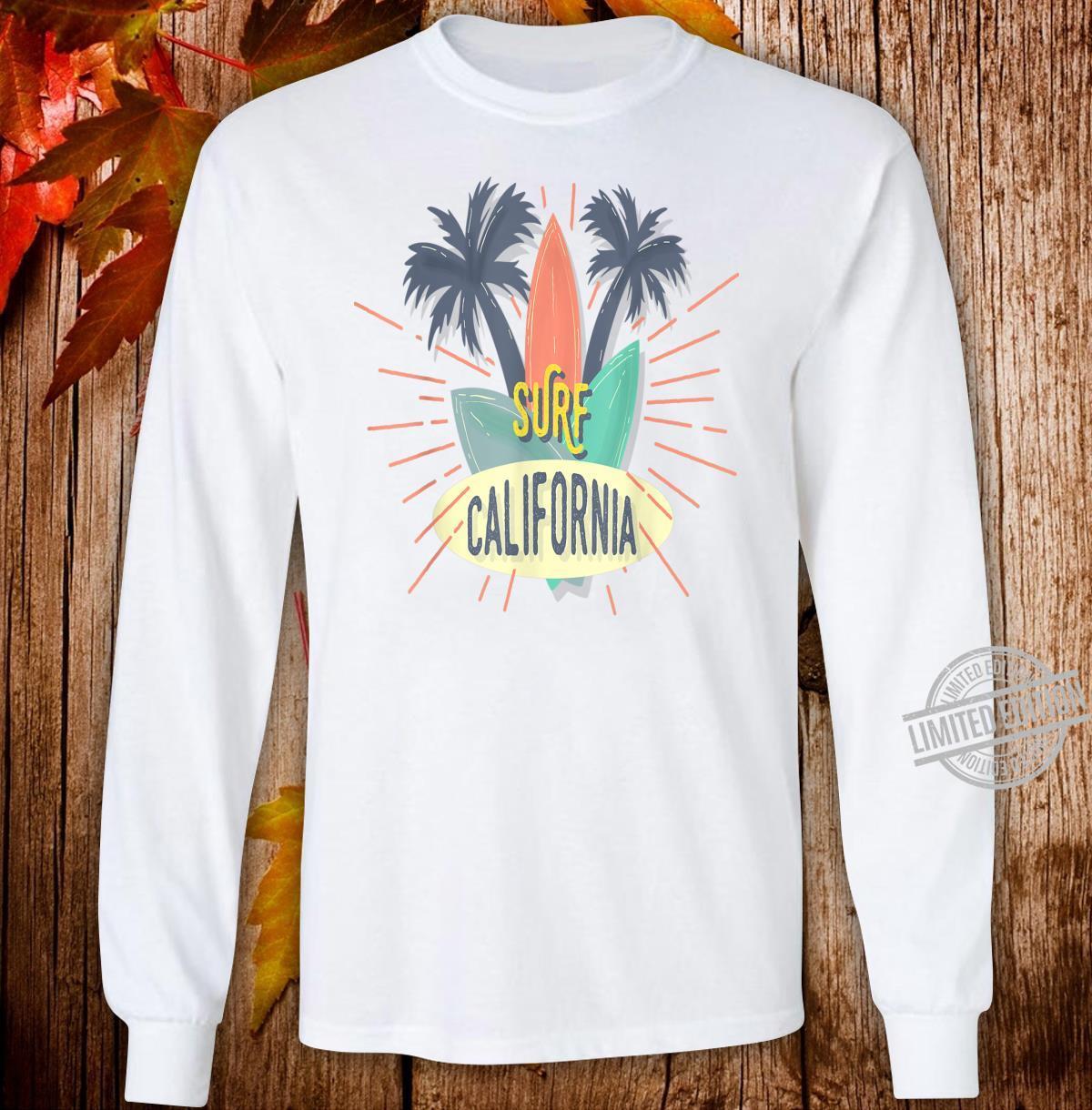Surf California Shirt long sleeved