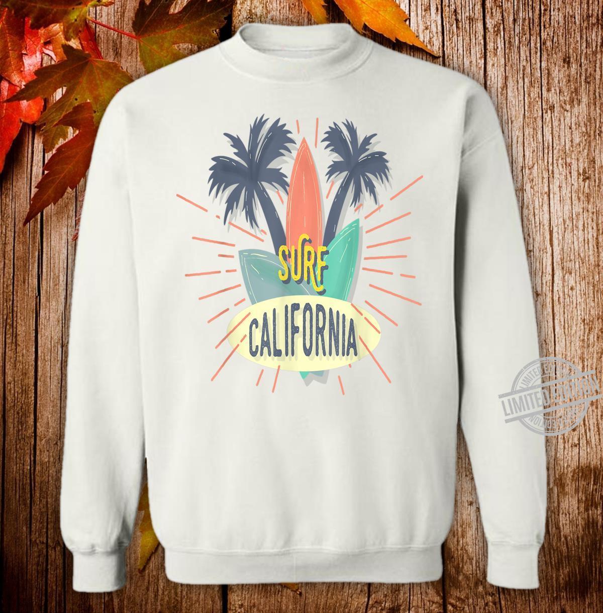 Surf California Shirt sweater