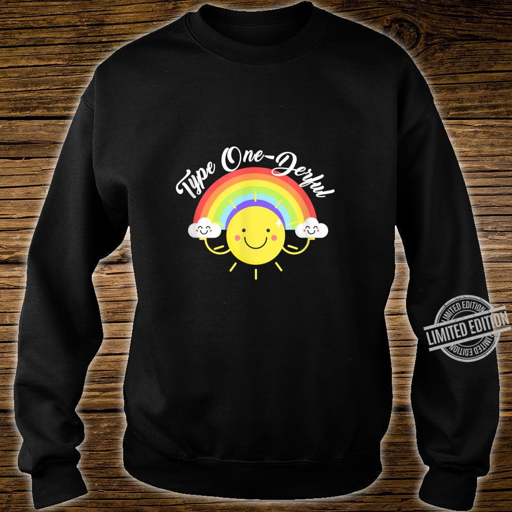 T1D Diabetes Awareness I'm Type 1 OneDerful Shirt sweater
