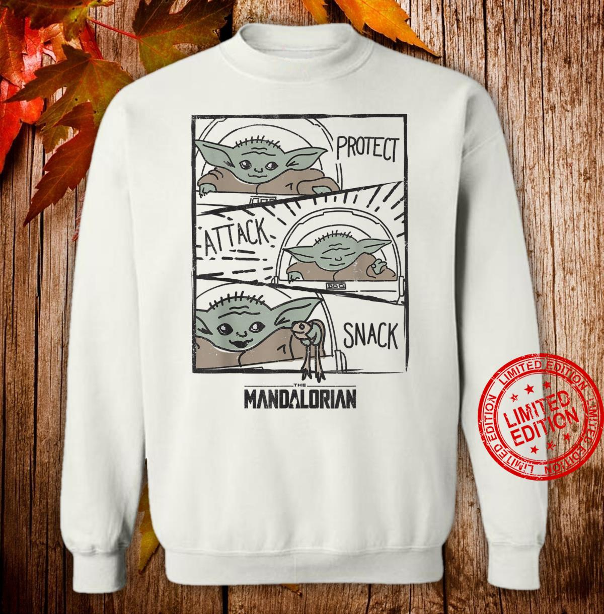 The Mandalorian The Child Protect Attack Snack Shirt sweater