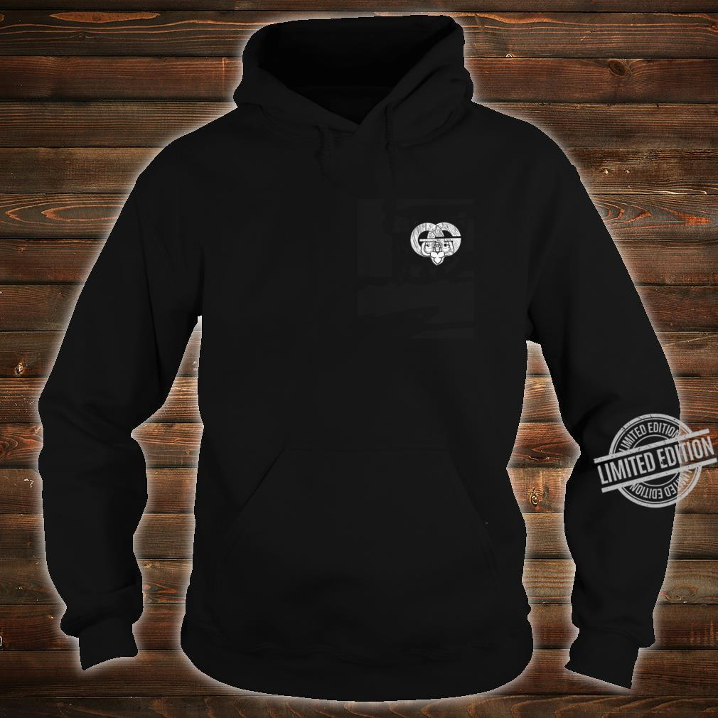 Two divers exiting the water Shirt hoodie
