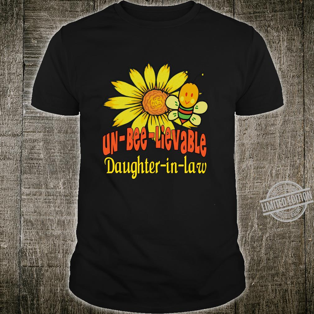 Unbelievable Daughterinlaw Best Daughterinlaw Ever Shirt