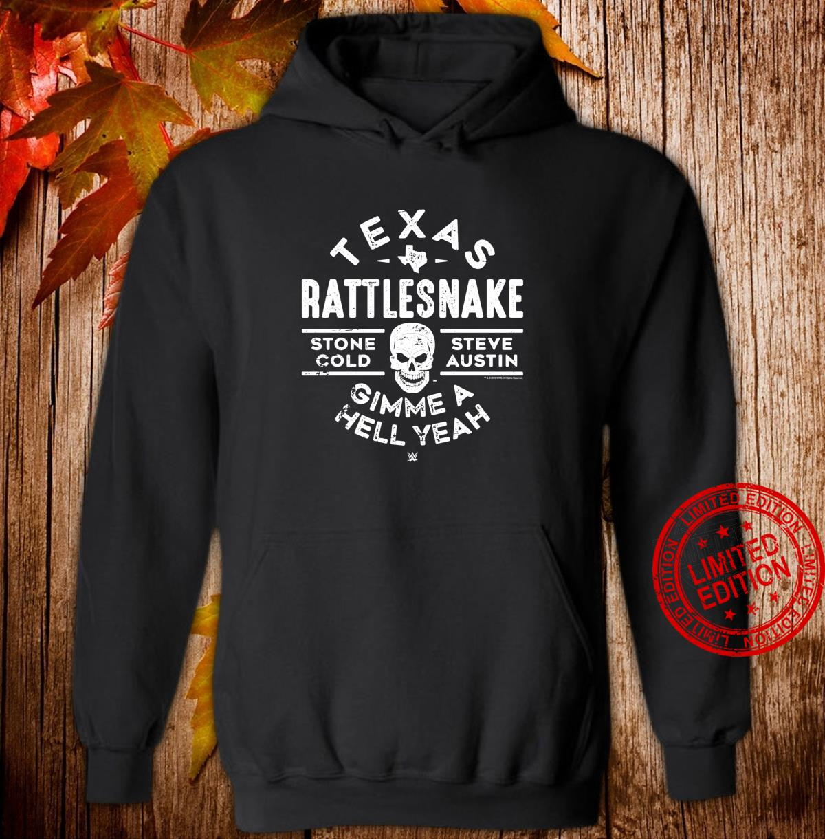 WWE Texas Rattlesnake Steve Austin Hell Yeah Shirt hoodie