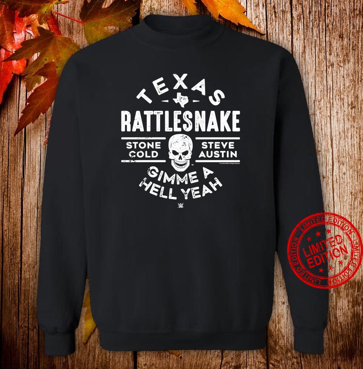 WWE Texas Rattlesnake Steve Austin Hell Yeah Shirt sweater