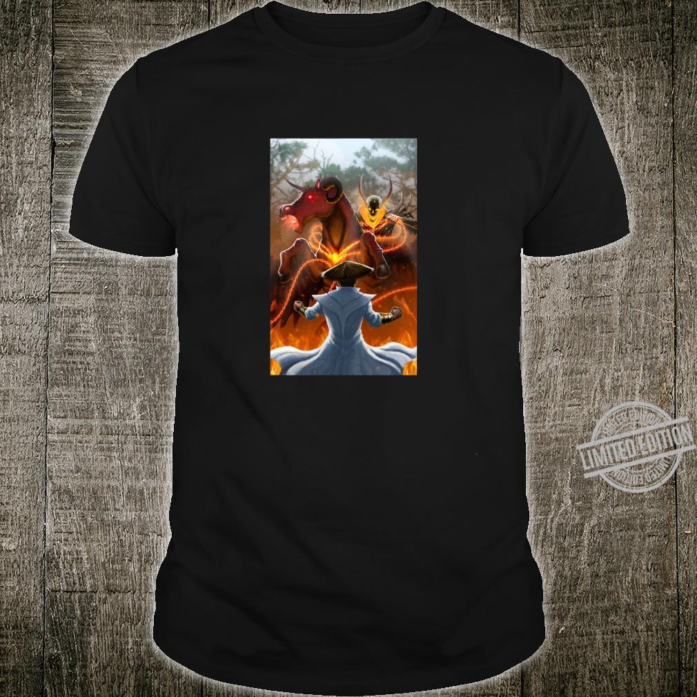 Warrior of the Light LightAbdeel and Nimrod battle Shirt