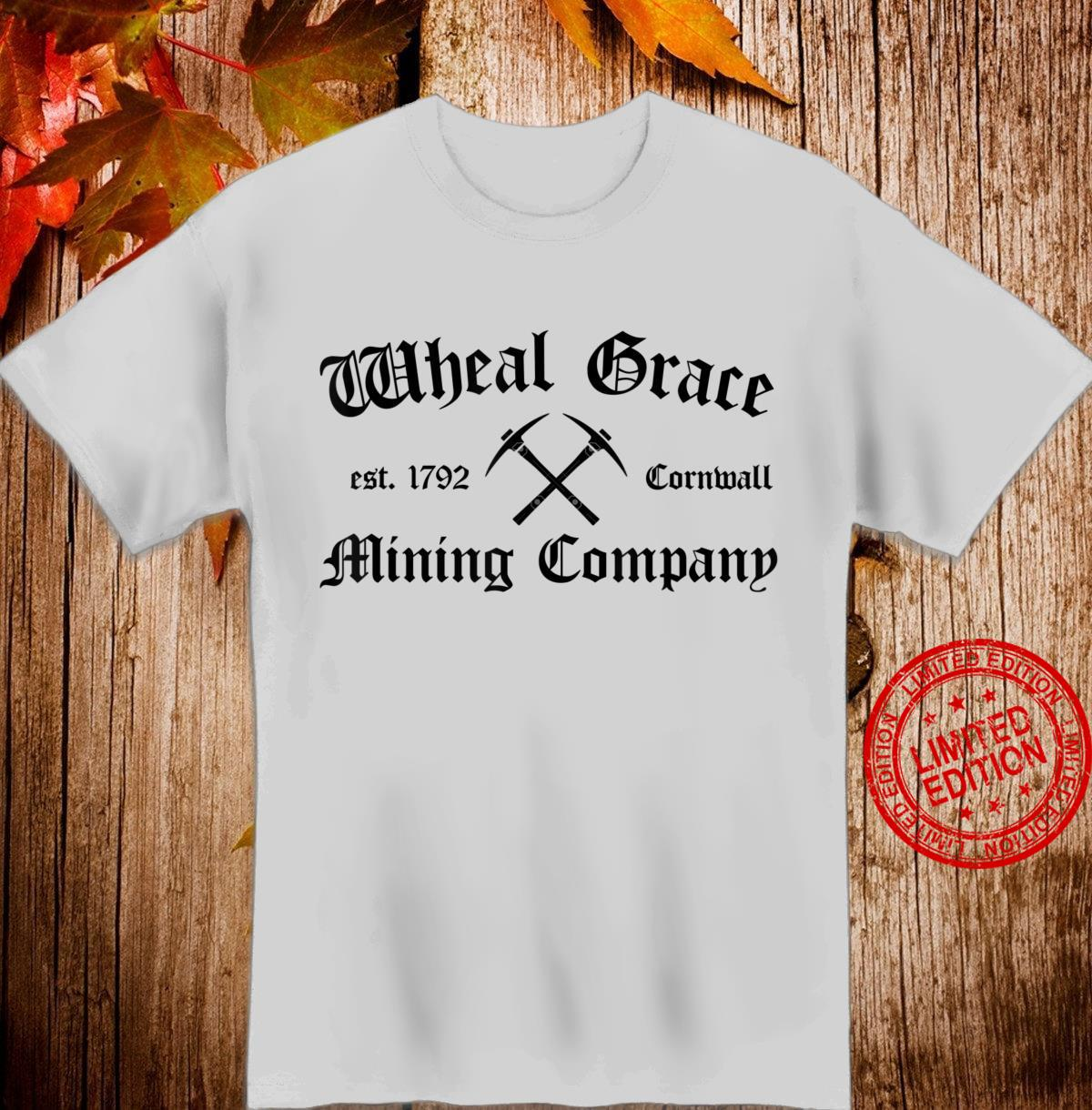 Wheal Grace Poldark Cornwall Mining Company Leisure Shirt