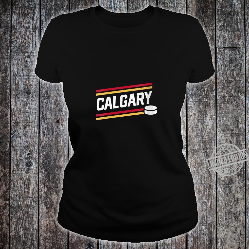 Womens Cool Calgary Hockey Power Play Shirt ladies tee