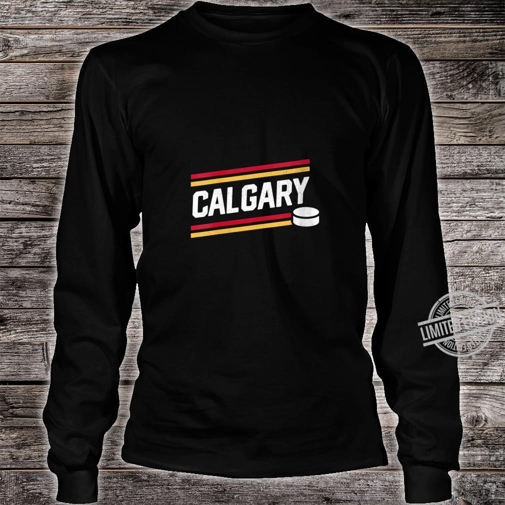 Womens Cool Calgary Hockey Power Play Shirt long sleeved