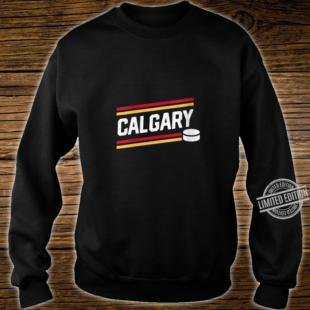 Womens Cool Calgary Hockey Power Play Shirt sweater