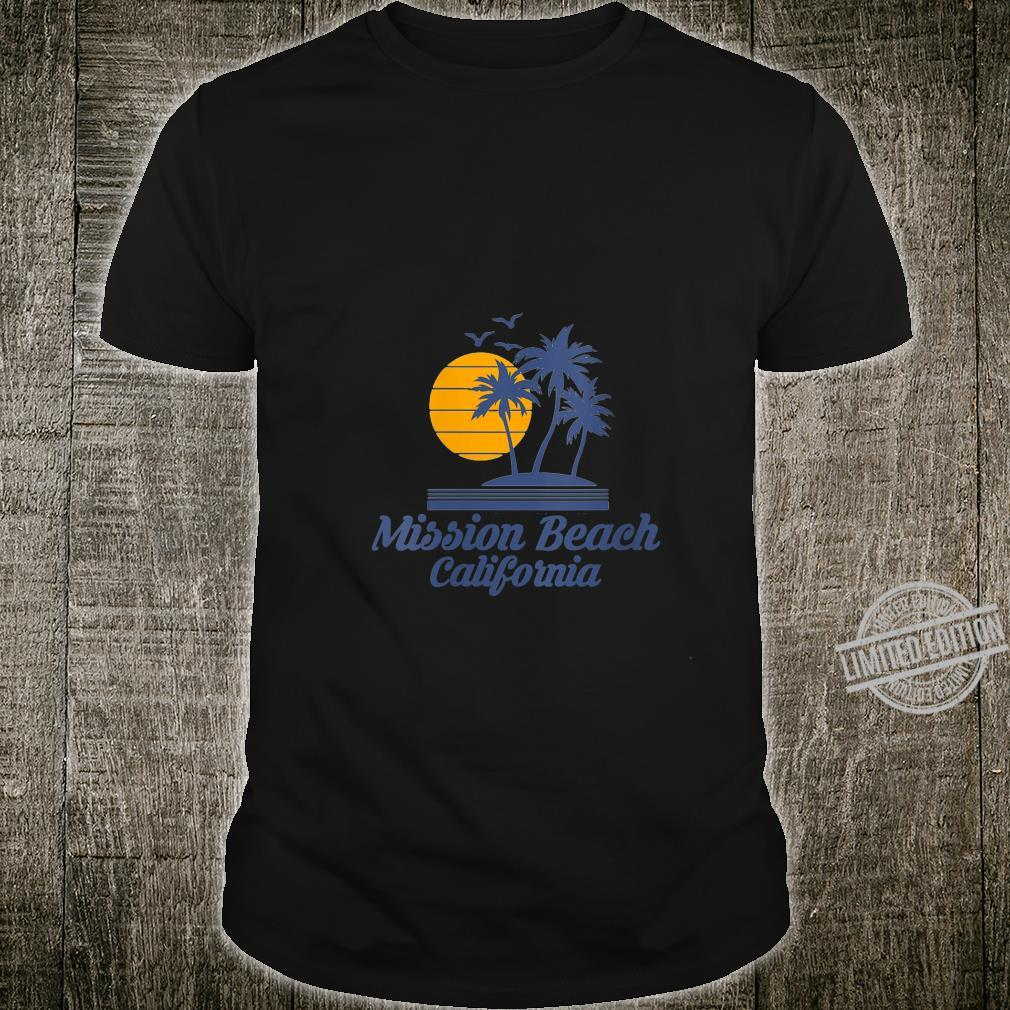 Womens Mission Beach California CA Tourist Souvenir City State Shirt