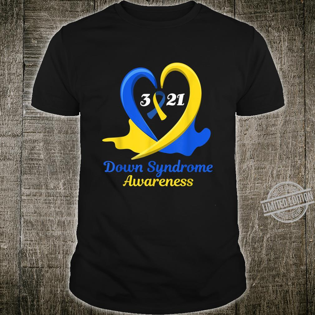 World Down Syndrome Day Awareness March 21 Support Shirt