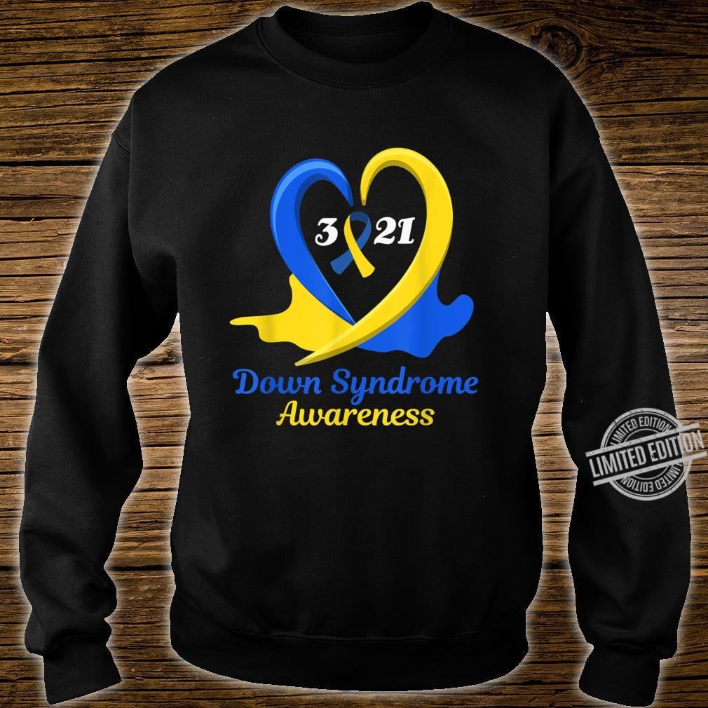 World Down Syndrome Day Awareness March 21 Support Shirt sweater